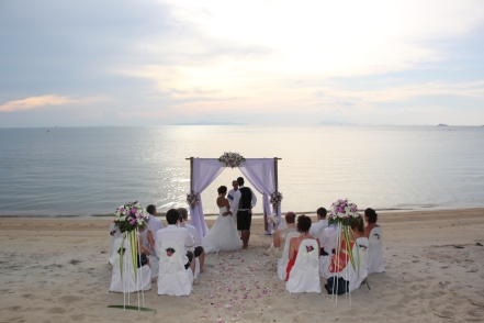 Richard and Stacey Samui wedding