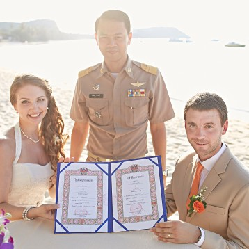 wedding celebrant samui