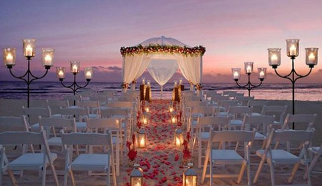 Evening And Sunset Beach Weddings